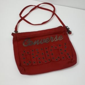Converse Chunk Crossbody Burgundy Purse Bag
